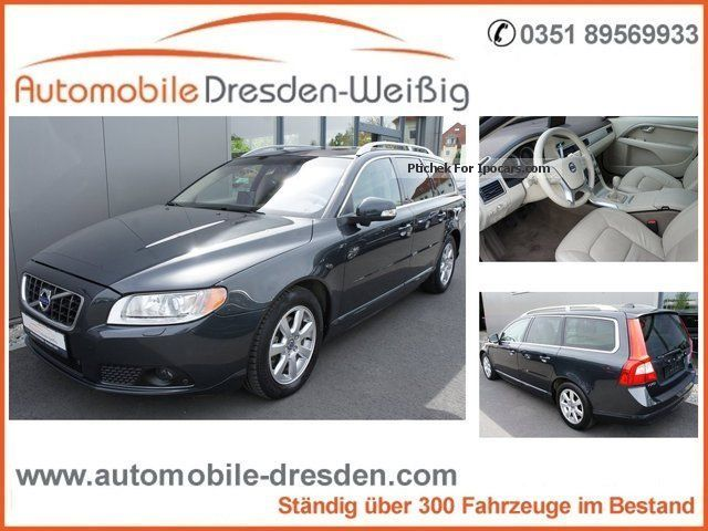 2010 Volvo  V70 Summum * Air seat * xenon * Leather * Navi * Blind Spot Estate Car Used vehicle photo