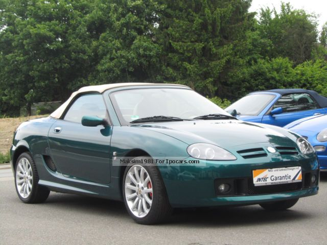 2004 MG  TF 80th Anniversary Limited Edition Cabriolet / Roadster Used vehicle ( Accident-free ) photo